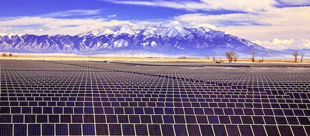 Sunedison's photovoltaic power plant in Chile