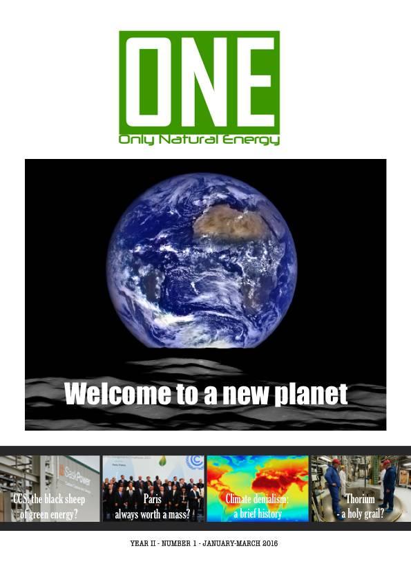 ONE Onlynaturalenergy.com - Nr. 1-2016