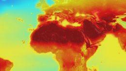 Climate world map (NASA)