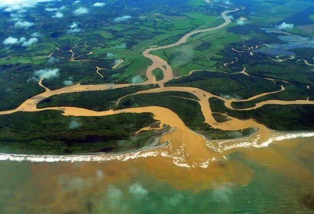 Rio Grande de Terraba Estuary. Photo by Bernard DUPONT/ Flickr.