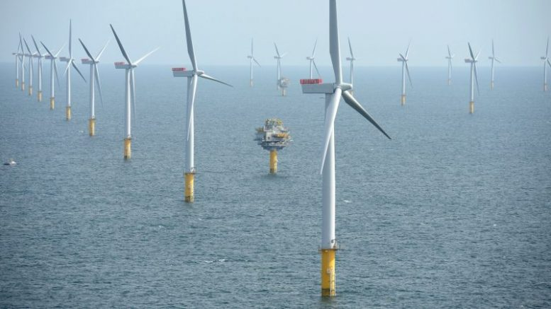 Offshore wind is quickly becoming a mainstream energy source for nations, with installation costs tumbling at record rates, according to the latest industry statistics. [Statkraft / Flickr]