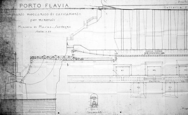 Porto Flavia - The Project - Courtesy ASM (Archivio storico Minerario, collezione digitale)