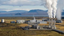 The Nesjavellir Geothermal Power Plant in Þingvellir, Iceland. Photo credit: Gretar Ívarsson/ILRI/Stevie Mann