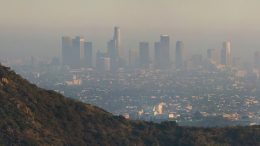 Los Angeles as viewed from the Hollywood Hills. Photo by DAVID ILIFF. License: CC BY-SA 3.0