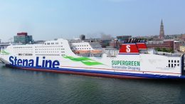 Stena Germanica moored in Kiel harbour. Photo credit: Ein Dahmer