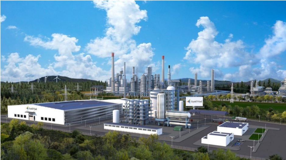 Visualisation of eMethanol Facility