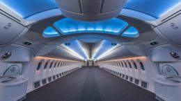 Lufthansa Technik new cabin design program. Photo credit: Lufthansa Technik