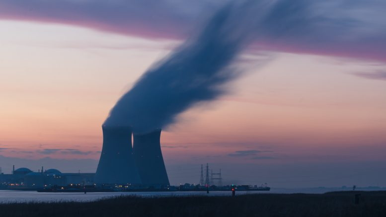 Nuclear powerplant in Belgium Photo by Frédéric Paulussen on Unsplash