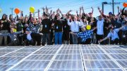 European energy cooperatives have reasons to celebrate after the new EU renewable energy directive (Photo by Black Rock Solar, modified, CC BY 2.0)