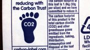 Carbon footprint label Science Photo Library, NTB scanpix