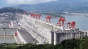 The Three Gorges Dam on the Yangtze River, China -wikimedia commons