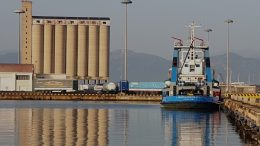 Cagliari port silo. Photo credit: onlynaturalenergy.com