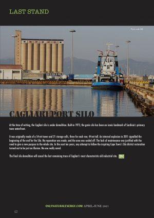 Cagliari port Silo