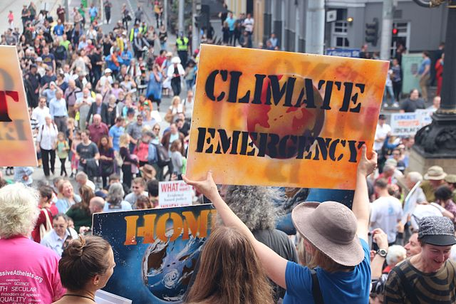 Thousands of Melburnians turned up and marched for science on April 22, #Earthday2017. Author Takver